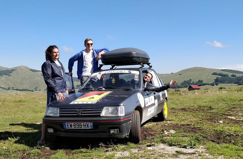 Retour sur la participation de Tristan à l'Europ'Raid 2018