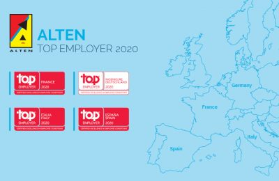 ALTEN labellisé Top Employer© France