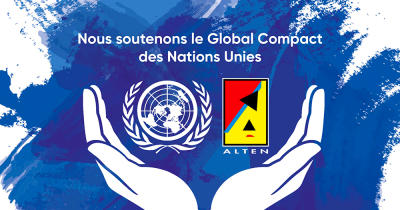 ALTEN renouvèle son soutien au Pacte mondial des Nations Unies (Global Compact)